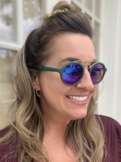 Sunglasses – Teal Renegade