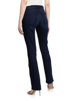 Slim Straight Leg Jeans, Dark