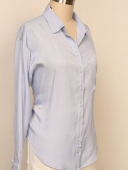 Light Blue Button Up Blouse