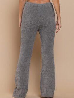 Fleece Cozy Pants, Grey