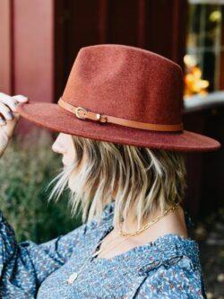 Spice Wide Brim Hat