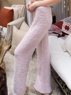 Fleece Cozy Pants,  Blush