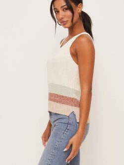 Stripe Knit Cami