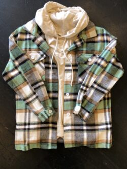 Boyfriend Plaid Flannel, Green
