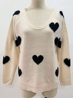 Black  Heart Pullover-ON SALE!