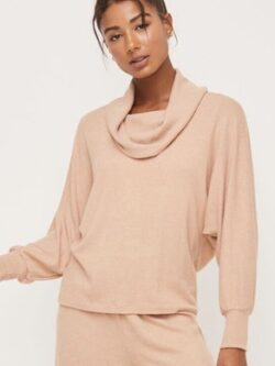 Apricot Soft Pullover