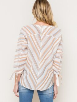 Striped Spring Top