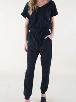 Jogger Style Jumpsuit, Black – BESTSELLER!