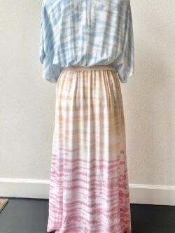 Tie Dye Kimono Dress
