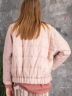 Rose Quilted Jacket – Size Medium!