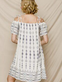 Blue Cabo Boho Dress