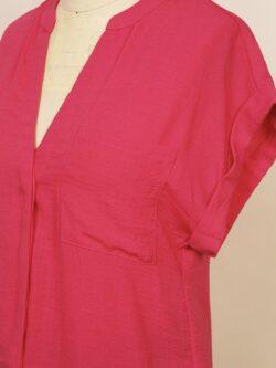Fandango Pink Short Sleeve Blouse