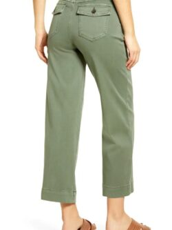Spanx Stretch Twill Cropped Pant