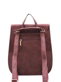 Snap Backpack – Mauve