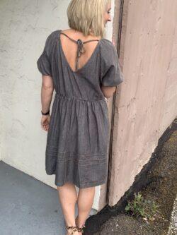 Mineral Washed Babydoll Dress