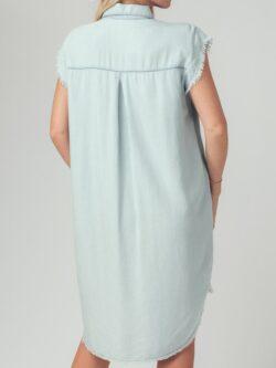 Chambray Tunic Dress