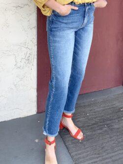 Straight Leg Crop