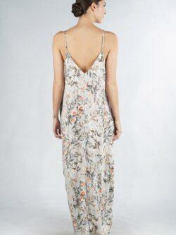 Eyelet Floral Maxi Dress